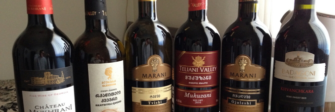 Грузинское вино Оджалеши