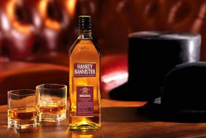 На фото - виски Hankey Bannister, whiskypro.ru
