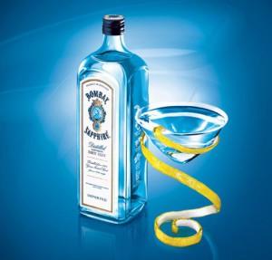 Джин Бомбей Сапфир – напиток десяти ингредиентов