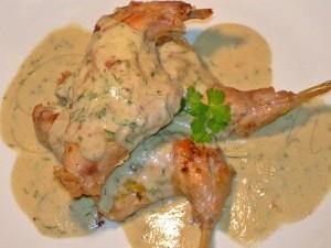 Кролик в белом вине – изысканное диетическое блюдо