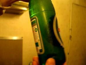 Фото замерзания пива, youtube.com