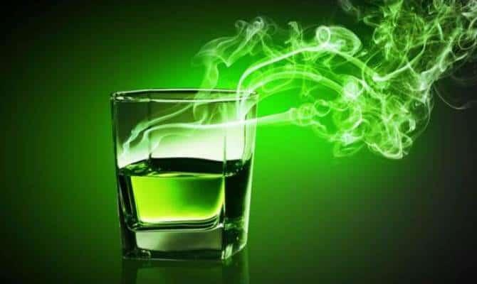 Зеленая фея – коктейль на основе абсента