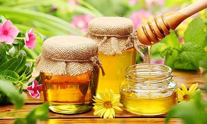 На фото - цветочный мед