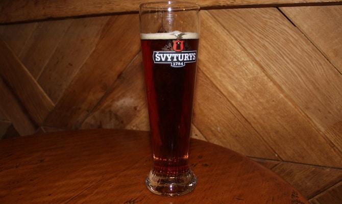 Фото литовского пива Швитурис