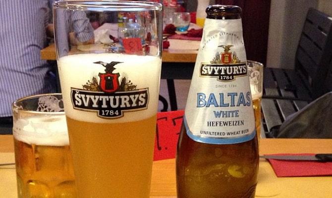 На фото - пиво Вaltas