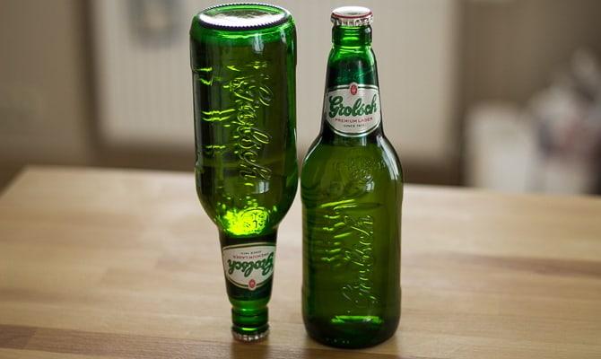 На фото - пиво Гролш