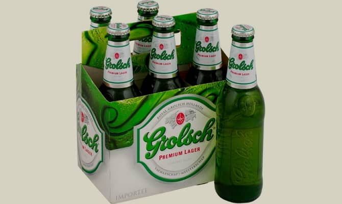 Фото пива Grolsch Premium Lager