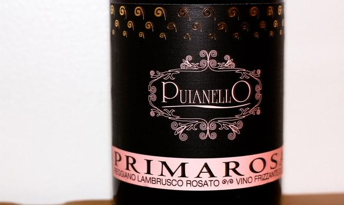 Оригинальная бутылка вина «Lambrusco»
