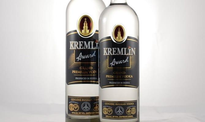 Водка Кремлин Эворд – достойна высших государственных чинов