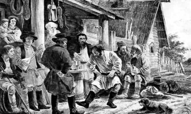 Торговля спиртным в 1866 году
