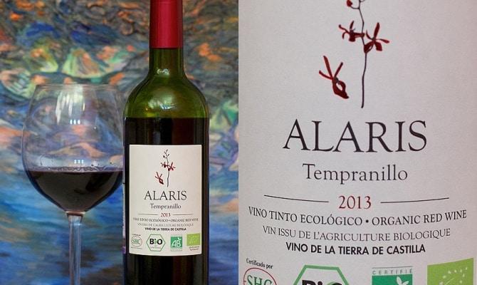 Испанское вино Tempranillo