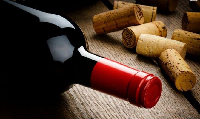 Пробковые заглушки для вина