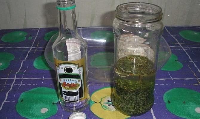 Приготовление настойки из водки