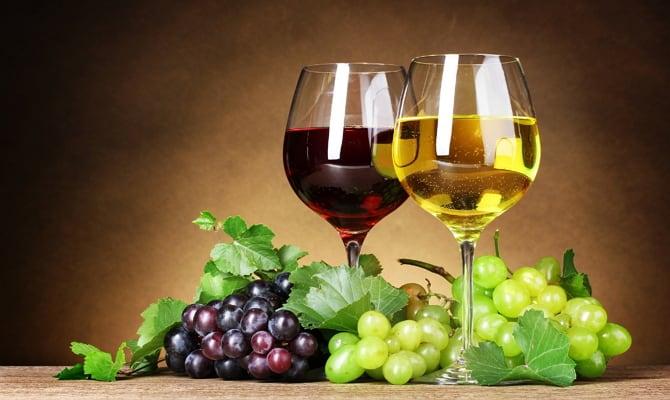 Виноградный алкоголь – полезные качества популярного напитка