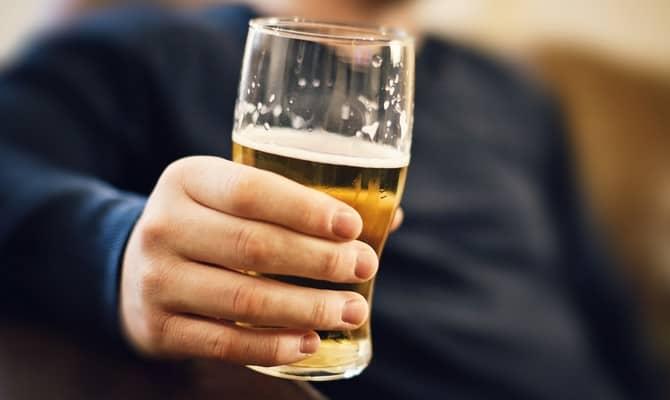 Содержание алкоголя в пиве