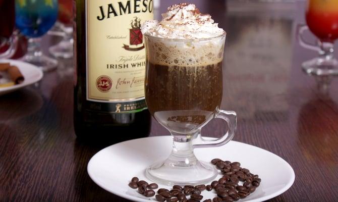 Бодрящий «Кофе из Ирландии»