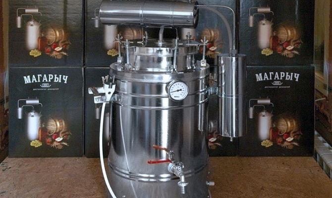 Агрегат для перегонки алкоголя «Магарыч 20 БКДР»