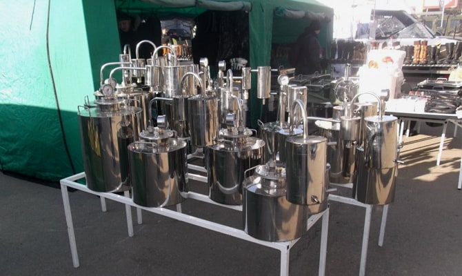 Дистилляторы колонного типа – в чем отличия от других самогонных аппаратов