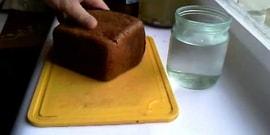 Очистка алкоголя хлебом – как довести напиток до идеала народным средством