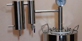 Самогонный аппарат «Термосфера» – особенности конструкции и эксплуатации в бытовых условиях