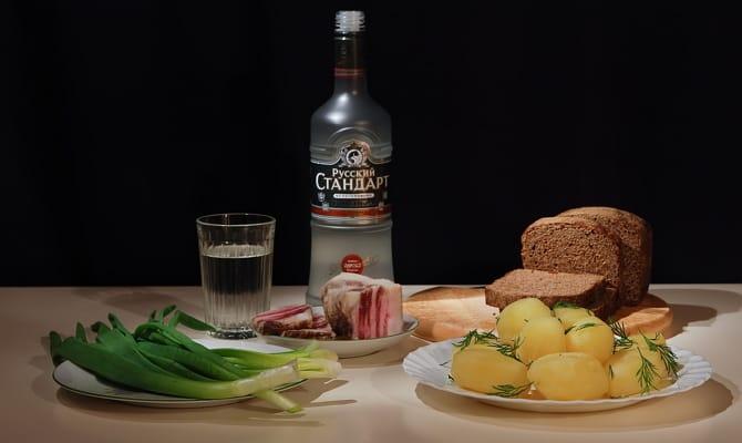 История напитка Русский Стандарт (водка)