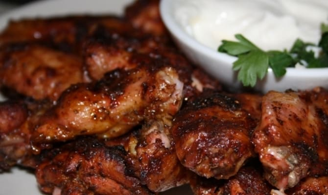 kurinye krylyshki k pivu 4 - Рецепты закусок: острые куриные крылышки к пиву
