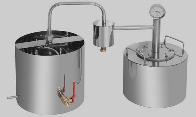 Непроточный дистиллятор – особенности конструкции