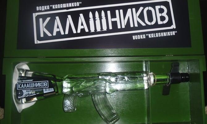 Оригинальная водка Калашников