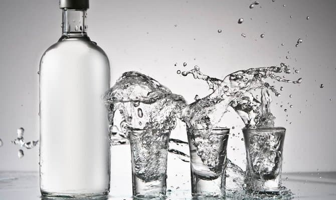 Вкусная водка Журавли