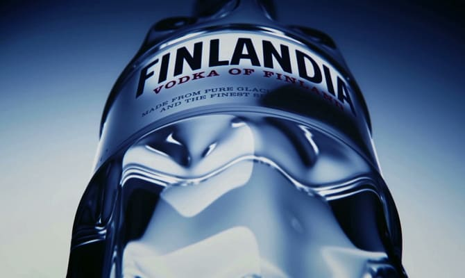 Водка производства Финляндии
