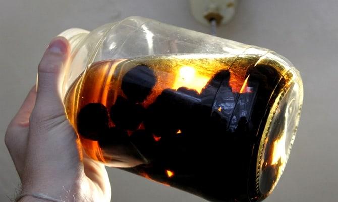 Рецептура приготовления настойки «Черная слива на водке»