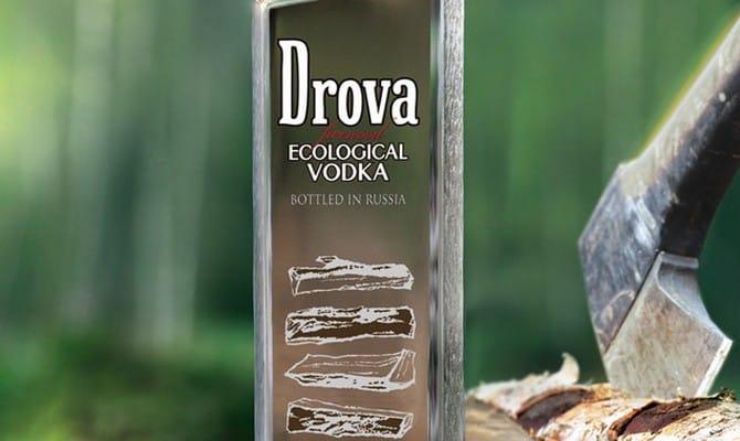 Как производится и употребляется водка Дрова?