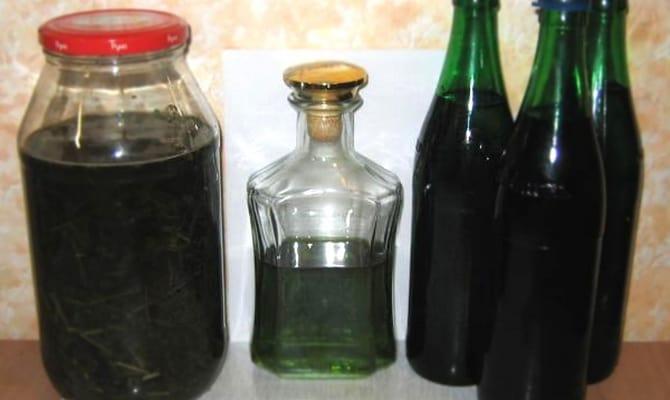 Инструкция по приготовлению и применению настойки полыни