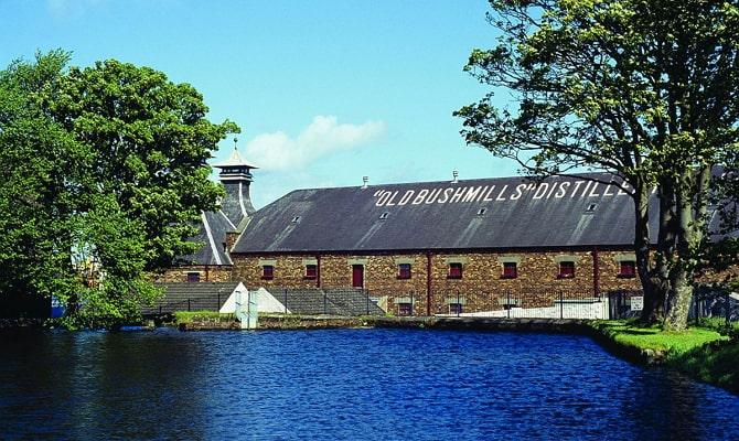 История создания производства ирландского виски «Бушмилс»