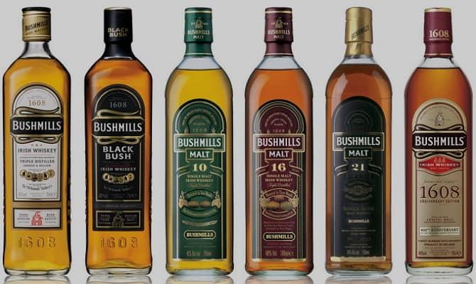 Какие существуют разновидности ирландского виски?