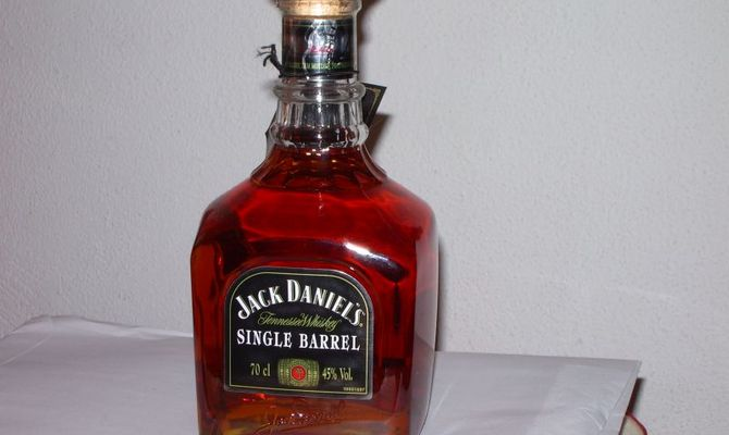Знаменитый виски jack daniels single barrel