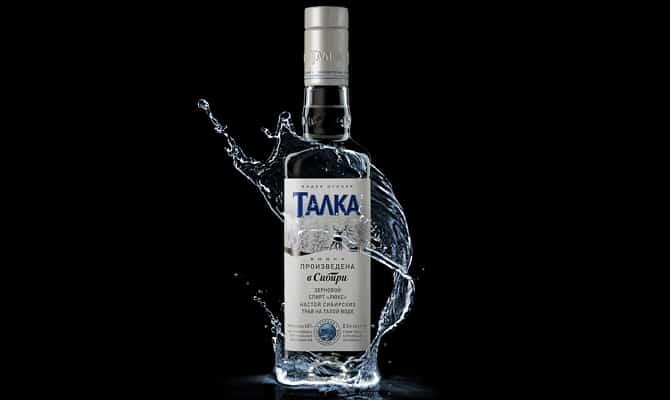 Качественная водка Талка