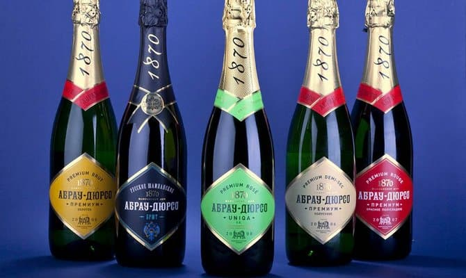 Лучшее шампанское России