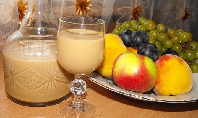 Как сделать молочный ликер в домашних условиях?