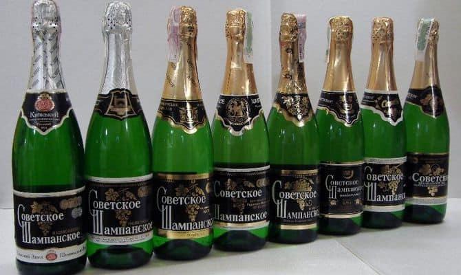 Популярное Кремлевское игристое вино