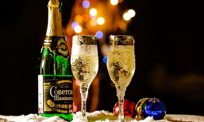 Советское шампанское - высококачественный алкоголь