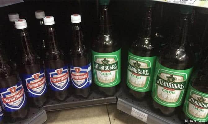 Оригинальное пиво Львовское