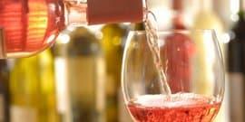 Игристое розовое вино