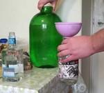 Как и из чего делают водку?