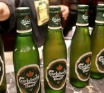 Знаменитый бренд пиво Карлсберг
