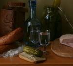 Король праздничного стола: графин для водки