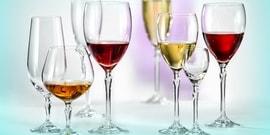 Варианты бокалов для различного вина