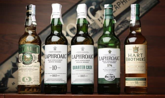 Напиток из Шотландии — лафройг виски
