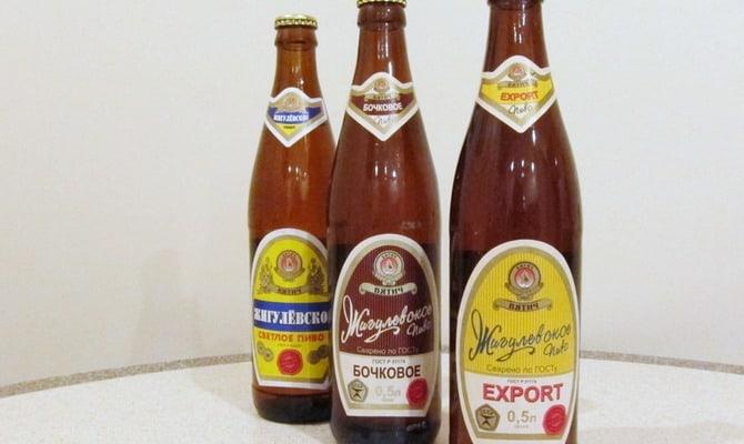 Напиток жигулевское пиво особенности