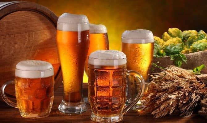 Состав живого пива